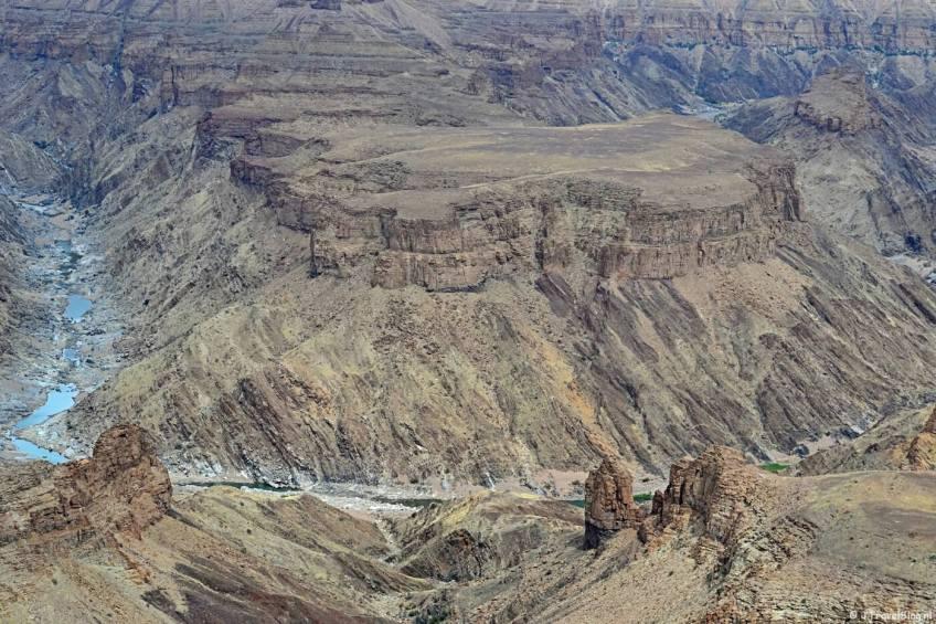 Fish River Canyon op dag 9 van mijn 22-daagse rondreis door Zuid-Afrika en Namibië