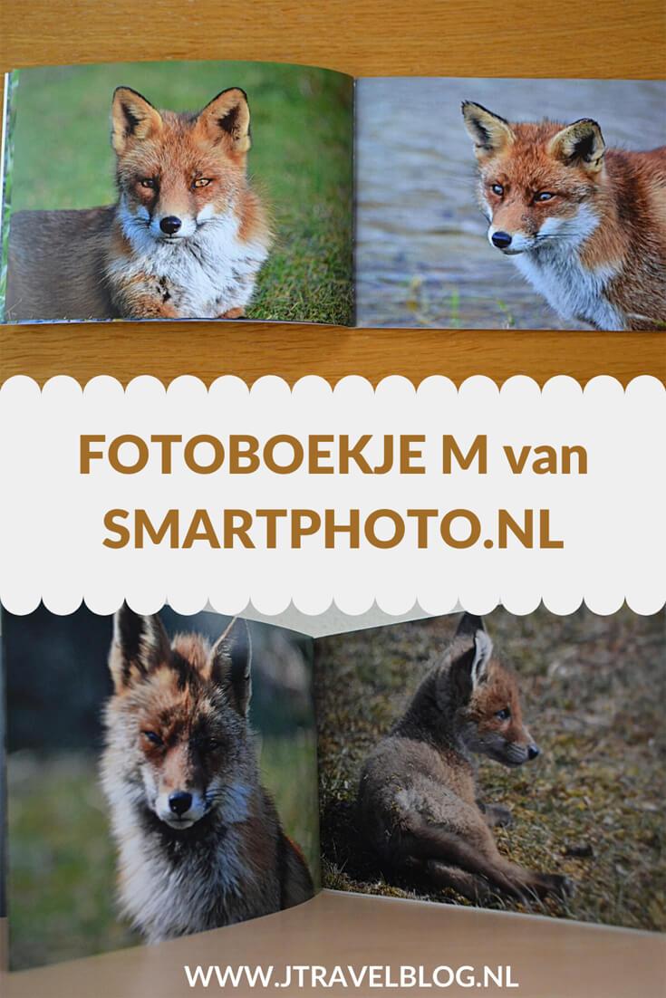 Bij Smartphoto.nl heb ik een fotoboekje M met zachte kaft laten maken. Ik koos voor foto's die ik de afgelopen jaren van vossen in de Amsterdamse Waterleidingduinen heb gemaakt. Mijn review over het fotoboekje M van Smartphoto.nl lees je op mijn website. Lees je mee en doe inspiratie op. #review #smartphoto #fotoboek #amsterdamsewaterleidingduinen #vos #jtravelblog #jtravel