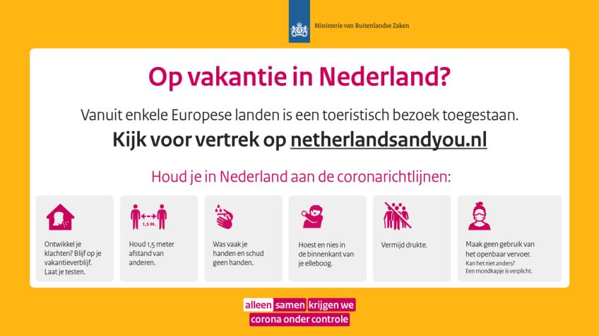 Regels als je op vakantie in Nederland bent