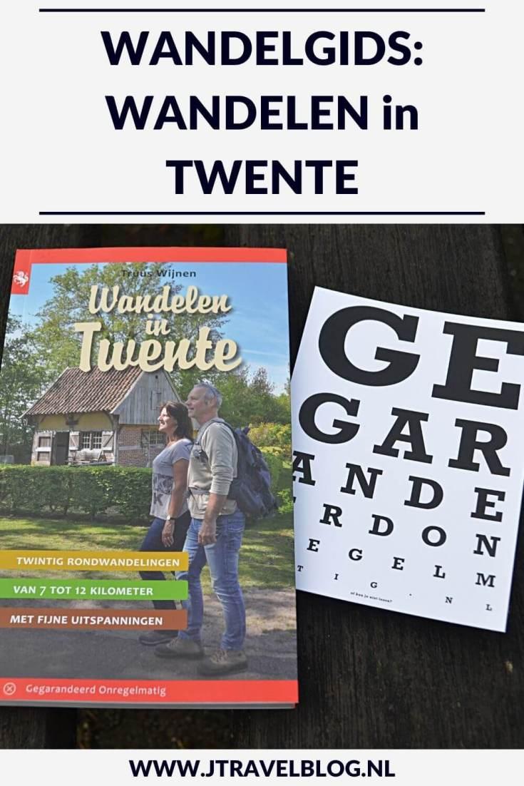 De wandelgids 'Wandelen in Twente' is een gids met twintig wandelingen in Twente/Overijssel. Alle wandelingen liggen rondom plaatsen als Almelo, Hengelo, Enschede, Oldenzaal, Haaksbergen en Denekamp. Wandel je mee? #twente #wandelen #hiken #wandelgids #gegarandeerdonregelmatig #jtravel #jtravelblog