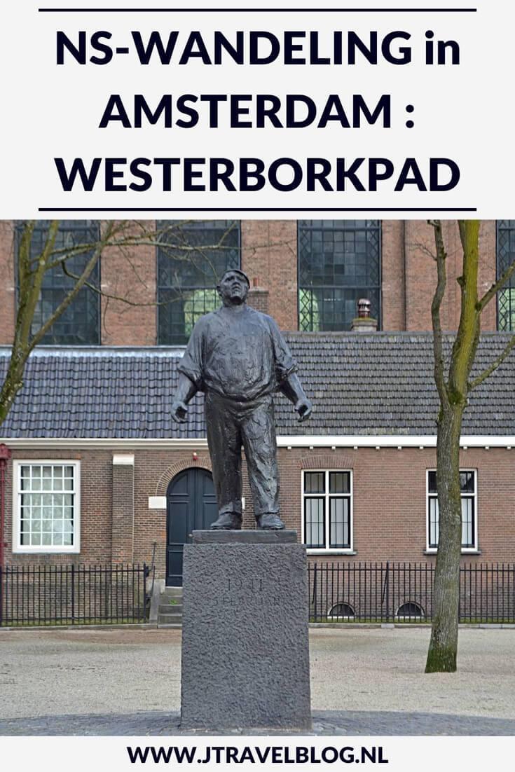 Ik maakte een wandeling langs een stukje van het Westerborkpad in Amsterdam. Onderweg kwam ik door de Joodse buurt van Amsterdam en langs 9 musea, waarvan ik er tijdens deze wandeling twee heb bezocht: het Verzetsmuseum en de Hollandsche Schouwburg. Mijn belevenissen en mijn route lees je in deze blog. Loop je mee? #amsterdam #westerborkpad #verzetsmuseum #hollandscheschouwburg #geschiedenis #tweedewereldoorlog #wandelen #hiken #jtravel #jtravelblog