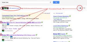 Boise SEO - Personalized Results