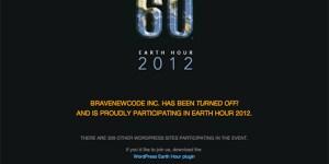 Earth Hour No Power 2012