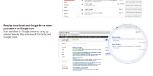 Gmail and Google Search Field Testing