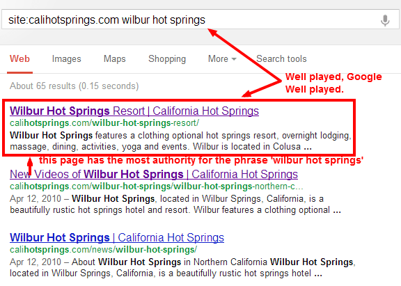 Google Search Operator in Action