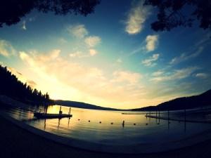 Epic Idaho Sunset