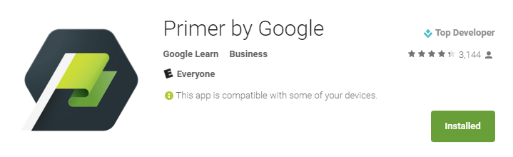 Google Primer for Android