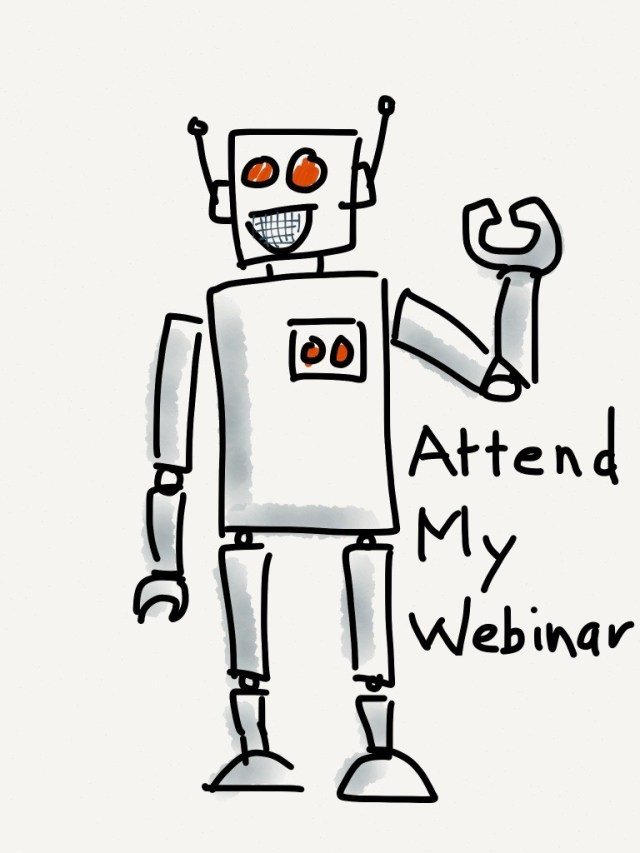 Your Brand is a Robot that clicks and buzzes at your audience.