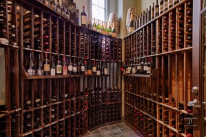 Wine room - Jeremiah True Photography
