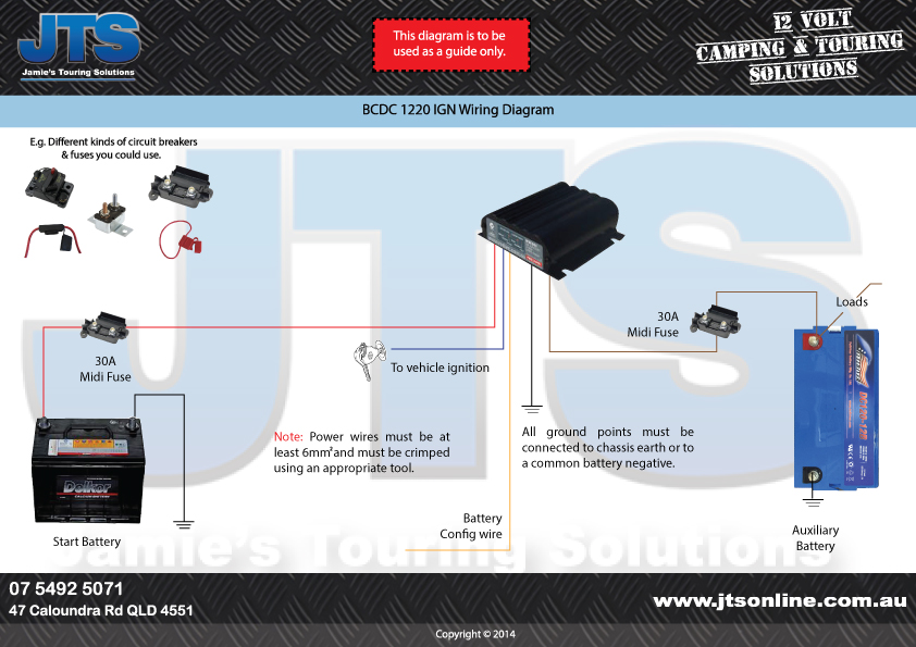 Easy To Read Redarc Wiring Diagrams For Bcdc Chargers