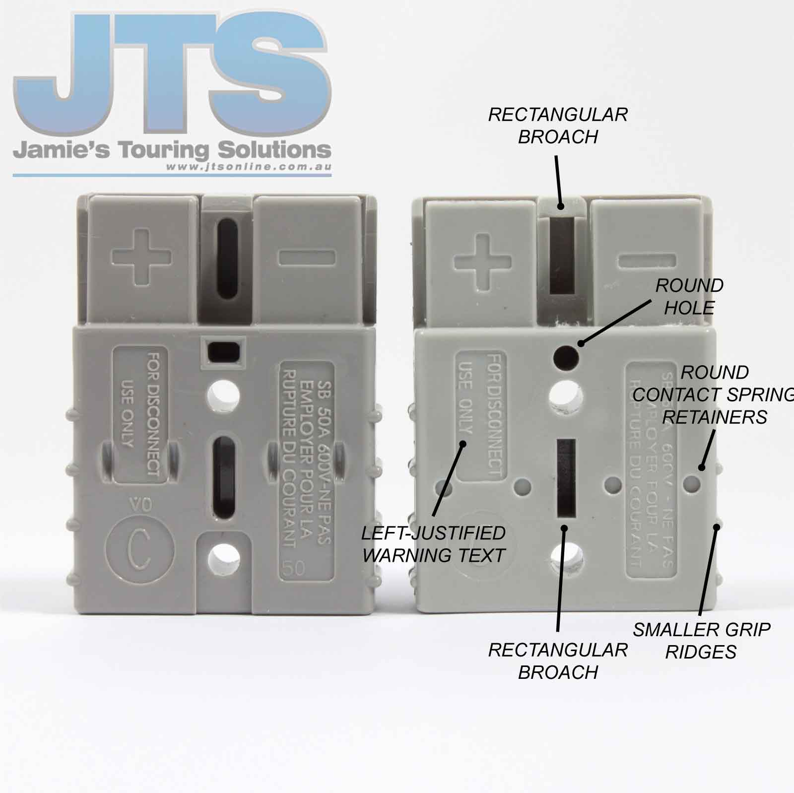 Wiring Diagrams Archives Jamies Touring Solutions Caravan Diagram Fake Anderson Plug Back