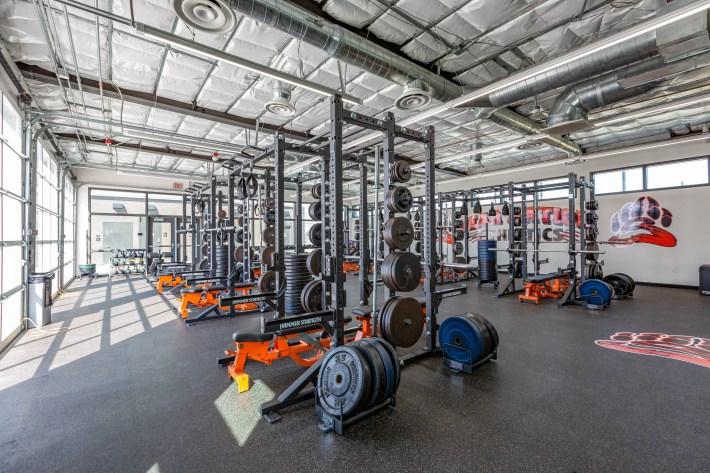 Selma High School Weight Room