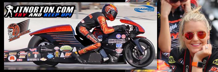 Flyin Ryan NHRA Pro-stock Motorcycle Winner