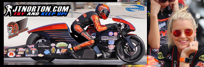 Flyin Ryan NHRA Pro-stock Motorcycle Winner