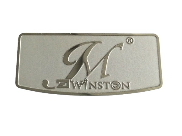 140 - Custom metal label nameplate stainless steel etching logo for perfume sticker house appliance electronic products packaging gift boxes machinery