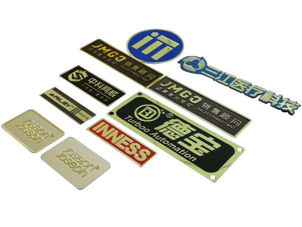 153 - Customized metal etching waterproof engraved stainless steel tag sticker with barcode for equipment many products