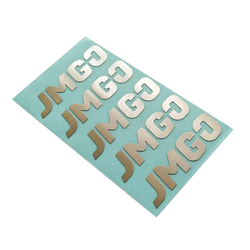 Custom Metal Sticker Wholesaler Etching logo Sticker Manufacturer Stainless steel sticker for electrical appliance