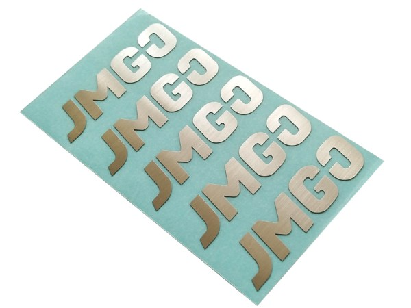 157 - Custom etching stainless steel embossed labels anodized industrial nameplates permanent adhesive metal logo stickers for machine