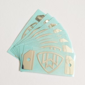 nickel metal sticker 24 - Best Sellers