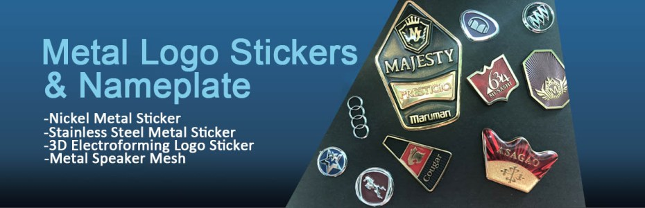Custom Metal Sticker Manufacturer