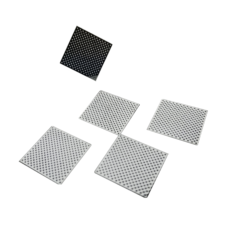 Stainless steel etched square hole Perforated Metal Mesh Speaker Grille Perforated Wire Meshsticker