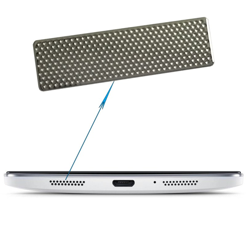 Precise hole etched stainless steel circle perforated metal mesh for speaker grill sticker for mobile phones tablet computers microphone networks