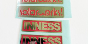 stainless steel metal sticker 13 - Home
