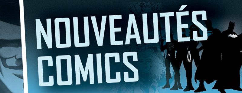 Panneau Nouveauté comics