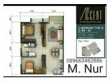 Dijual Apartemen The Accent Bintaro - 1 & 2 Bedrooms Semi Furnished