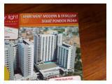 Jual Murah Apartemen City Light Ciputat, Tangerang Selatan - 2 BR, 35.75 m2 Kondisi Baru