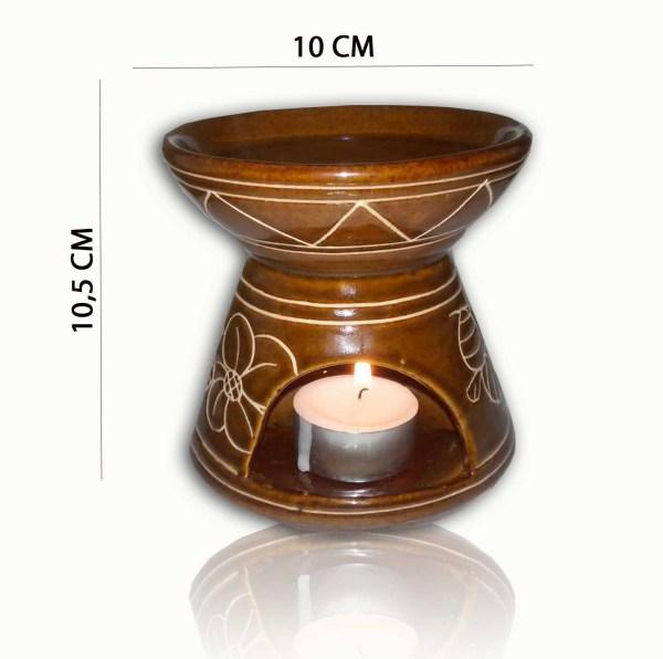 Jual burner atau tungku aromaterapi ukuran besar