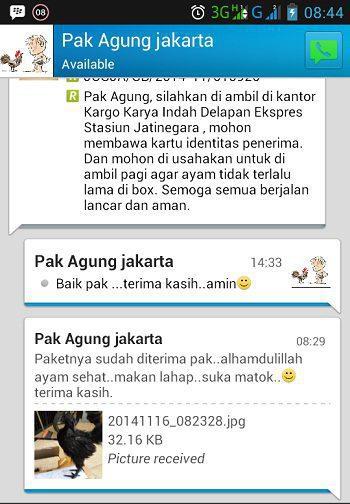 Testimonial Bapak Agung Jakarta