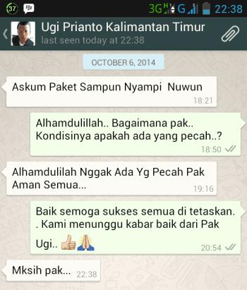 Testimonial Bapak Ugi Priyanto Kaltim