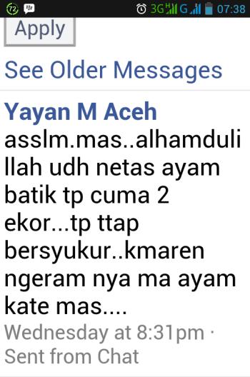 Testimonial Bapak Yayan Aceh