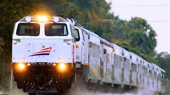 Kirim via kereta api