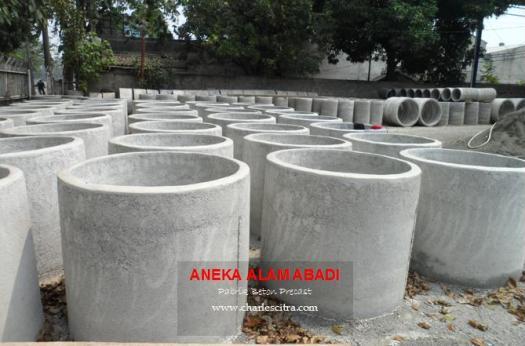 buis beton wadah budidaya ikan lele