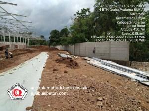pekerjaan pemasangan pagar beton