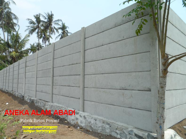 jsaa pemasangan pagar beton jakarta
