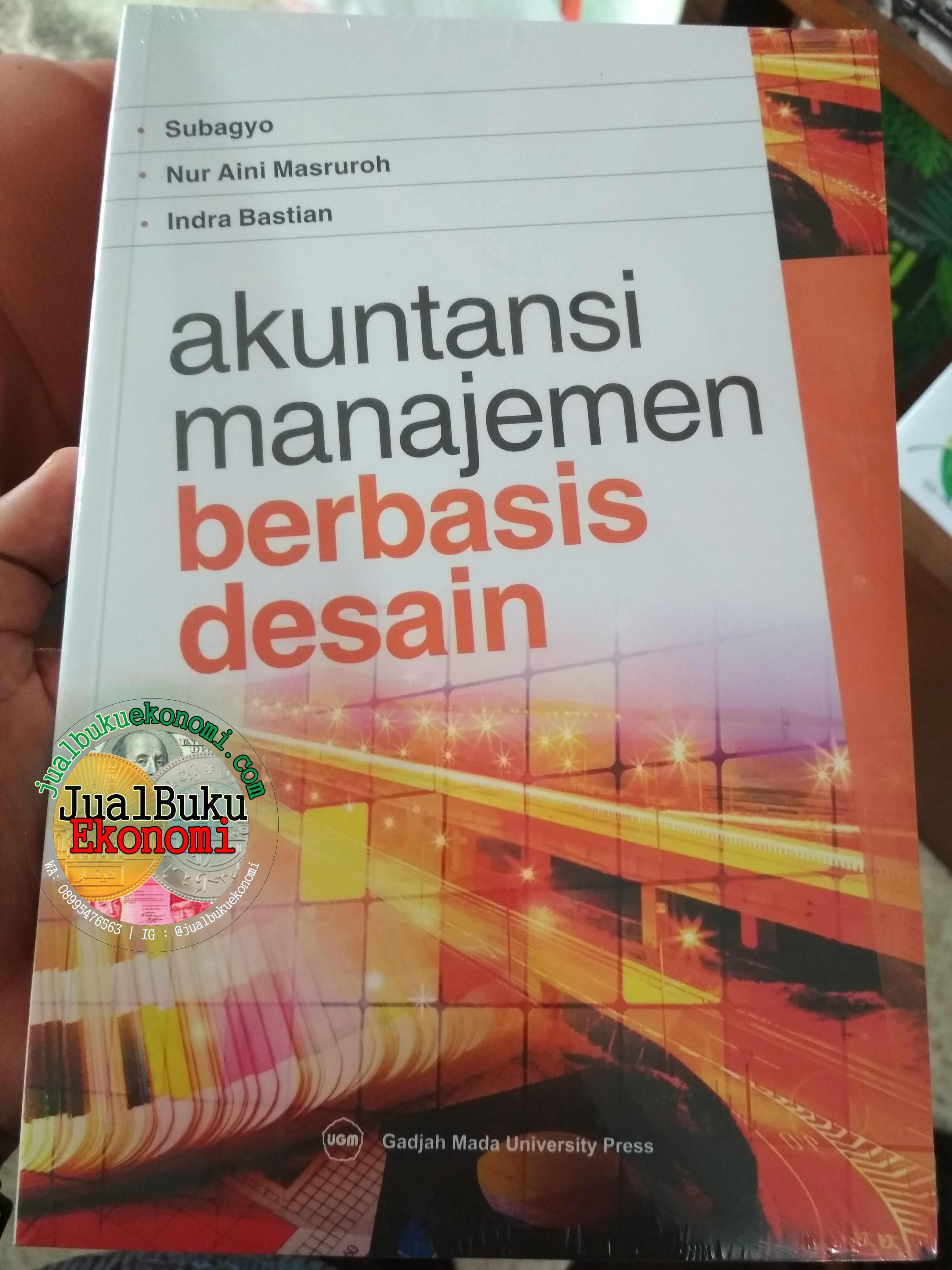 Akuntansi Manajemen Berbasis Desain Jual Buku Ekonomi