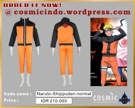 Kostum Cosplay-Naruto Uzumaki Shipuden-088806003287