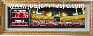 jual jam jadwal sholat digital masjid murah di cikampek barat