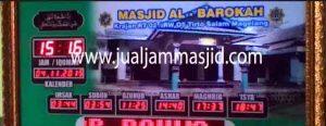 jual jam jadwal sholat digital masjid murah di depok utara