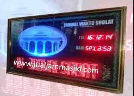 jual jam jadwal sholat digital masjid murah di jakarta selatan terbaik