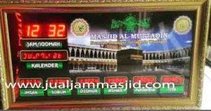 jual jam jadwal sholat digital masjid murah di tangerang barat