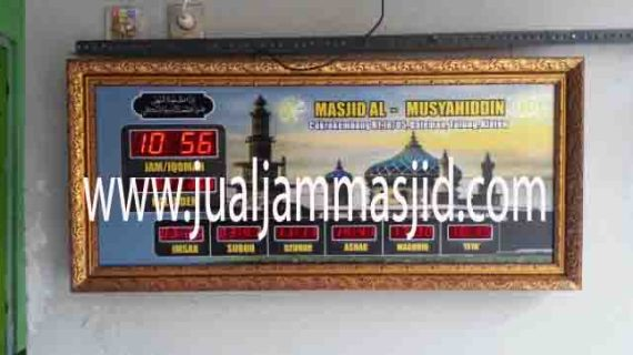 harga jam digital masjid di bekasi utara