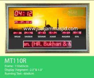 penjual jam jadwal sholat digital masjid running text di bandung barat