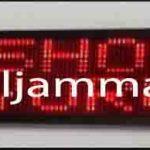 penjual jam jadwal sholat digital masjid running text di bandung selatan