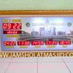 penjual jam jadwal sholat digital masjid running text di Harapan Baru bekasi