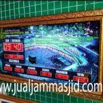 penjual jam jadwal sholat digital masjid running text di Jatiraden bekasi