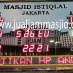 penjual jam jadwal sholat digital masjid running text di Mustikasari bekasi